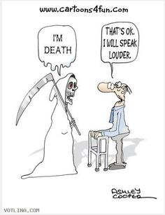 Death and funeral humor