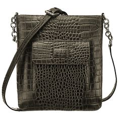 OSPREY LONDON The Carapace Across Body Handbag Osprey London, Carapace, John Lewis, Messenger Bag, Satchel, Tote Bag, Wallet, Purses, Chain