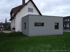 Modélisation d'une extension de maison sous Cinema4d par Vincent Quirin, infographiste multimédia 3D à Sotteville lès Rouen