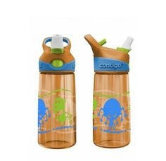 Contigo gertuvė vaikams 415ml, 'Striker' Water Bottle, Cleaning, Drinks, How To Make, Bottles, Goodies, Touch, Button, Usa