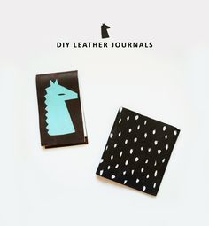 DIY Leather Journals | Mer Mag