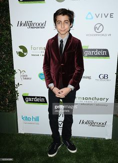 News Photo : Actor Aidan Gallagher attends Farm Sanctuary's...