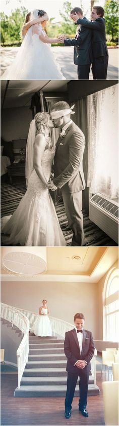 first look wedding photo ideas