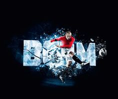 NikePro Combat Football by Souverein , via Behance  #Soccer #Football #Rooney