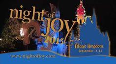 Mercy Me  @ Nite Of Joy 2015 - Walt Disney World Mercy Me, September 11, Magic Kingdom, Walt Disney World, Joy, Night, Youtube, Glee, Being Happy