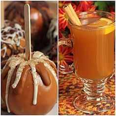 Apple-icious! Recipes for the best caramel apples, spiced cider, overnight apple steel cut oats & more.