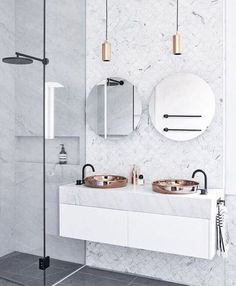 Luxury Bathroom Master Baths Walk In Shower is agreed important for your home. Whether you pick the Luxury Master Bathroom Ideas or Luxury Bathroom Master Baths Benjamin Moore, you will create the best Small Bathroom Decorating Ideas for your own life. Bathroom Inspo, Bathroom Inspiration, Bathroom Ideas, Bathroom Goals, Bathroom Designs, Bathroom Trends, Bathroom Stuff, Small Bathroom, Master Bathroom