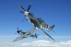 Supermarine Spitfires Mk IX & XVI