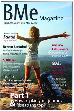 BMe Magazine is the leading business self-help and development magazine for mums and women in business.