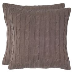 I pinned this Vail Pillow in Mocha from the Ski Chalet event at Joss and Main!