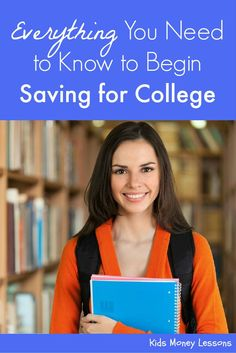 to Start Saving for College Everything You Need to Know to Begin Saving for College: The cost of college is flat out absurd. So how does one begin saving for college? Here is a go-to guide to get you started.Start Start can refer to multiple topics: College Costs, Saving For College, College Savings, Ways To Save Money, How To Raise Money, Money Saving Tips, Household Expenses, Parenting Teenagers, School Resources