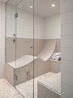 This would be so cool in a shower. Now that's what I call a steam bath. lol