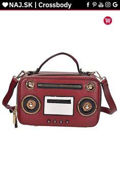 Kabelka crossbody L-198 RED Red, Bags, Fashion, Handbags, Moda, Fashion Styles, Fashion Illustrations, Bag, Totes