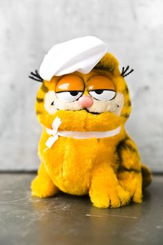 80's Garfield Toy by ReneeVintage