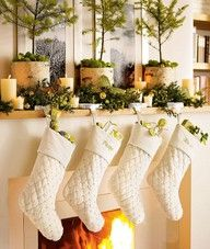 """Christmas in white fireplace"""" data-componentType=""""MODAL_PIN"""