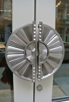 Art Deco door 'handles' by singerscoach