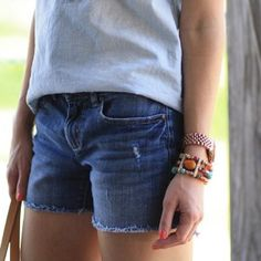 Jcrew Distressed Cutoff Jean Shorts Size 27 distressed cut off jean shorts. Comfortable fit. Perfect staple for your summer wardrobe! No flaws besides distressing that was on the shorts when bought. (Cover photo shows shorts in a different wash then the pair I am selling, but it is the same style.) J. Crew Shorts Jean Shorts