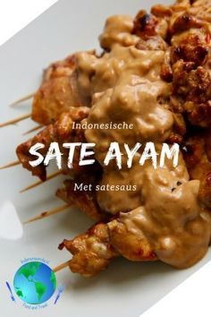 Hot & Spicy Peanut Sauce Recipes for Shrimp, Pork, Chicken Healthy Meals For Kids, Good Healthy Recipes, Healthy Chicken Recipes, Quick Easy Meals, Meat Recipes, Easy Dinner Recipes, Asian Recipes, Sate Ayam, Easy Japanese Recipes