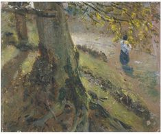 Study of Tree Trunks | Constable, John (RA) | V Search the Collections