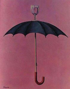""""""" René Magritte, Les vacances de Hegel, 1958. """" René Magritte 1898 - 1967"""
