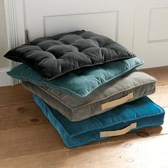 box floor pillows. Ballard Designs Pickford Tufted Floor Cushion - Box Edge Pillows