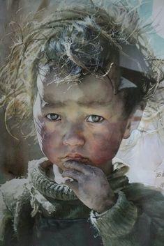Liu Yun Sheng. Watercolour #LiuYunSheng