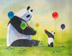Pan Da by Jon J Muth #panda #birthday #jonjmuth