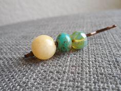 #womensgift beaded Bobby pins make the perfect gift b