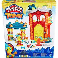 Play-Doh Town Quartel de Bombeiros - Hasbro