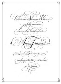 John Stevens Design & Calligraphy