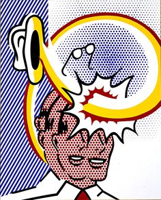 Coup de Chapeau (self portrait)   Roy Lichtenstein Roy   1996
