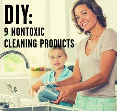 DIY Cleaning tips! Recipes for solutions