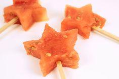 Healthy Party Food Ideas - Melon Pops