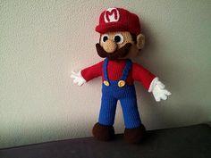 Here's a free Super Mario crochet pattern!