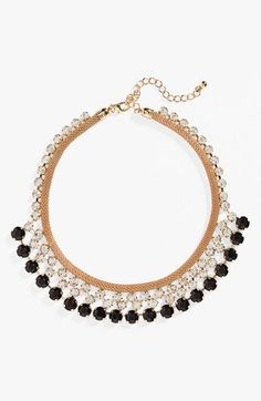 Natasha Couture Crystal Statement Necklace available at #Nordstrom