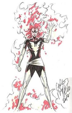 Carlos Pacheco Dark Phoenix Pin Up | eBay