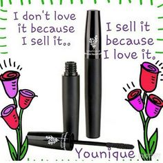 I tried this mascara once and knew I wanted to sell this awesome products. They have a whole line of makeup and skin care products too. CLICK ON PIC TO LEARN MORE