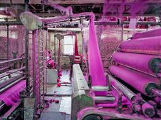 The Weird Tech and Brilliant Colors of the American Textile Mill | S
