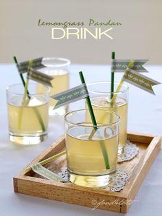 lemongrass, pandan leaves, screwpine leaves, herbal drink, drink for toddler, Food 4 Tots, healthy drink, toddler, kid, children