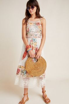 Farm Rio Lilith Halter Dress | Anthropologie
