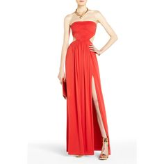 BCBGMAXAZRIA - Baile Cutout Strapless Evening Gown    I think I will wear this to grown up Prom.
