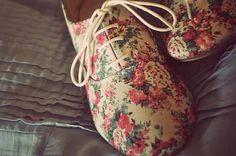 #floral shoes