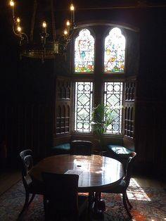 Small dining room, Cardiff Castle | Flickr: Intercambio de fotos