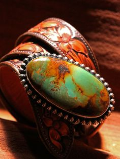 Beautiful Green Shotgun Belt buckle