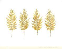 """Golden Leaves""  by Jennifer Steen Booher"