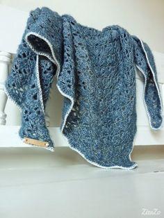 ZizaZo: Southbay shawl Gehaakte omslagdoek