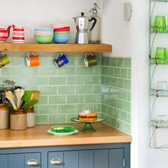 Photo: Simon Whitmore/IPC Images | thisoldhouse.com | from All About Ceramic Subway Tile