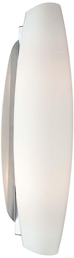 Opal Glass 16 3/4-Inch-H LED George Kovacs Wall Sconce - #EU2J183 - Euro Style Lighting