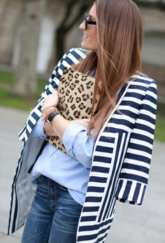 Mixing stripes and leo