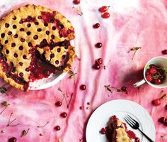 Find the recipe for Sour Cherry Pie and other cherry recipes at Epicurious.com